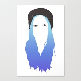 Blue Vector Canvas Print