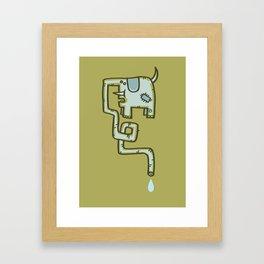 Olive Patch Framed Art Print