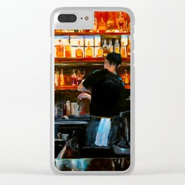 The Bartender Clear iPhone Case