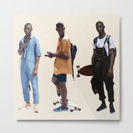 Adonis Bosso Looks Metal Print