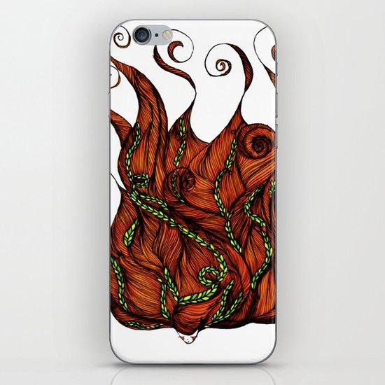 Vine Head iPhone & iPod Skin