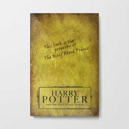 The Half-Blood Prince Metal Print