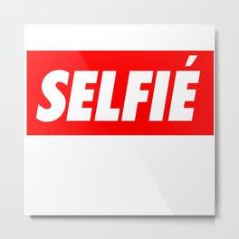 Selfie Metal Print