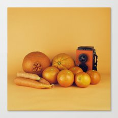 Orange carrots - still life Canvas Print