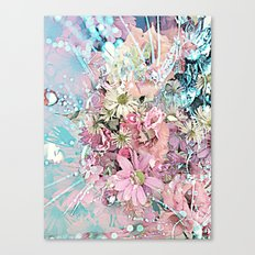 Party Flowers Canvas Print