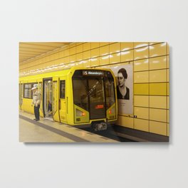 Off to Berlin! Metal Print