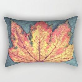 Leaf On Fire Rectangular Pillow