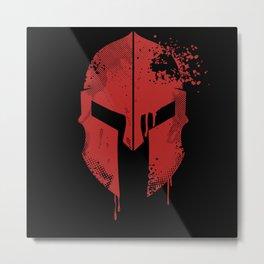 Spartan Helmet | Warrior Gift Idea Metal Print