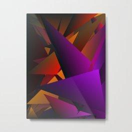 Smoke Screen Abstract 2 Metal Print