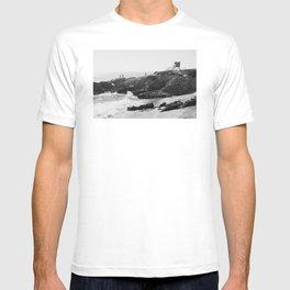 Leo Carrillo State Beach | Malibu California | Black and White Photography | Malibu Photography T-shirt