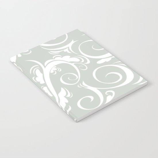 Floral Sea Salt Notebook