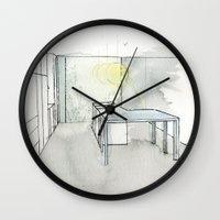 kitchen Wall Clocks featuring Kitchen by eckoepp