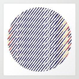 Drops of time Art Print