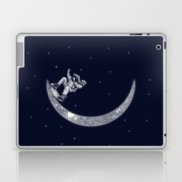 Skate in space Laptop & iPad Skin