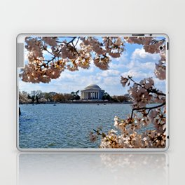 Jefferson Through the Cherry Blossoms Laptop & iPad Skin