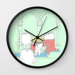 The Crowning Wall Clock