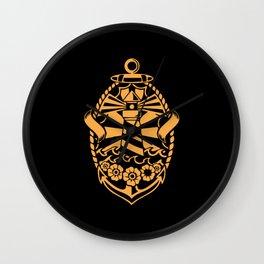 Logo Light House Wall Clock