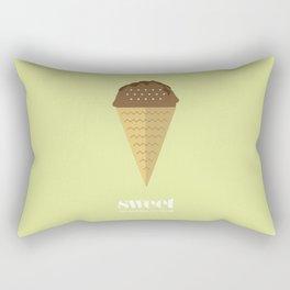 Sweet ice cream 7 Rectangular Pillow