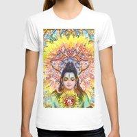 shiva T-shirts featuring Sunflower Shiva by BradButler