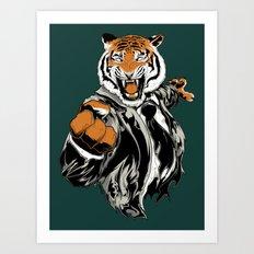 Belligerent Bengal Art Print