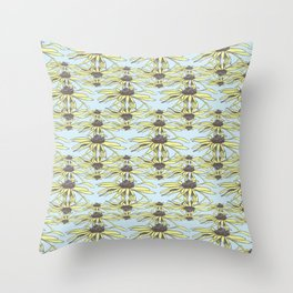 Stockholm Garden Flower Power Throw Pillow