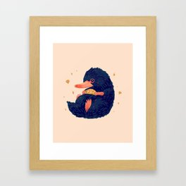 Thief Framed Art Print