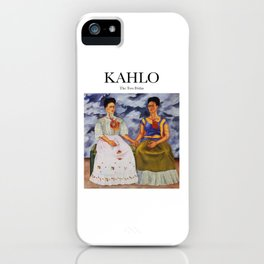 Kahlo - The Two Fridas iPhone Case