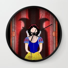 Shadow Collection, Series 1 - Apple Wall Clock