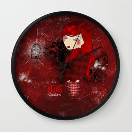 L'amoureuse Wall Clock