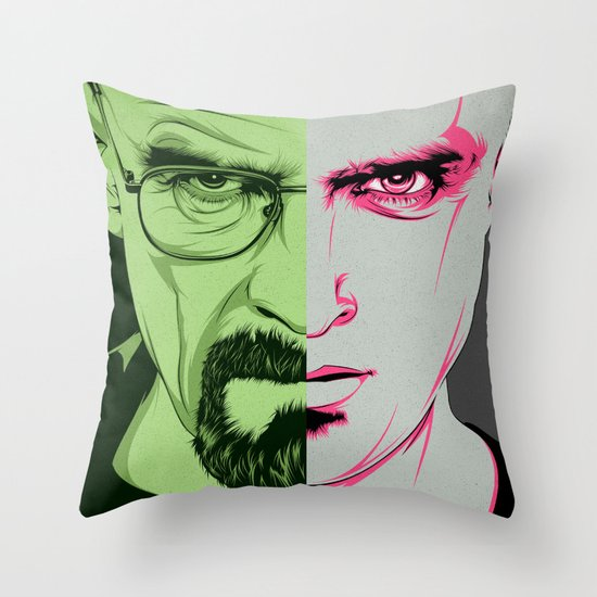 B.B. Throw Pillow