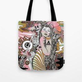 Eye Tried Tote Bag