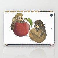 kili iPad Cases featuring Apple&Walnut_Fili&Kili by AlyTheKitten