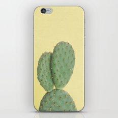 Yellow Cactus iPhone Skin