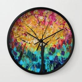 Energy Tree Wall Clock