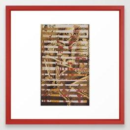Work Ethic Framed Art Print