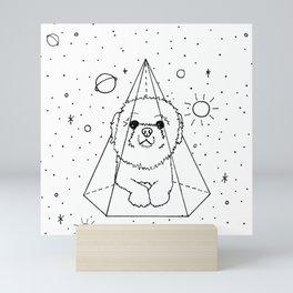 Shih Tzu Galaxy Mini Art Print