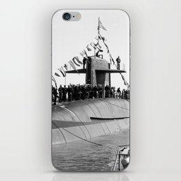 USS WOODROW WILSON (SSBN-624) iPhone Skin