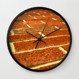 Another Brick In The Wall Wall Clock
