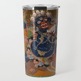 Yamantaka, Destroyer of the God of Death Travel Mug