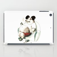 mickey iPad Cases featuring Mass Mickey by Leslie Tychsem