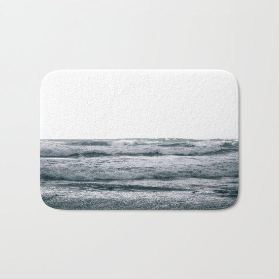Waves V Bath Mat