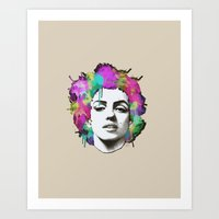 Colorful Marilyn Monroe Art Print