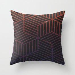 Galaxy pattern Throw Pillow