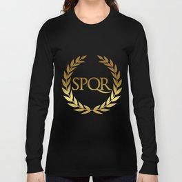 Roman SPQR Long Sleeve T-shirt