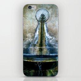 Fountain Bleu iPhone Skin