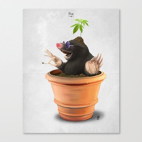 Pot Canvas Print