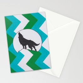 ZigZag Wolf Stationery Cards