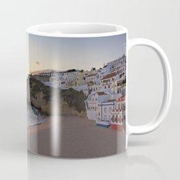 Praia do Carvoeiro at dusk, Portugal Coffee Mug