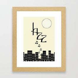 Jazz (the creamy variety) Framed Art Print
