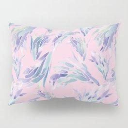 Succulent Pattern Pink- watercolor Pillow Sham